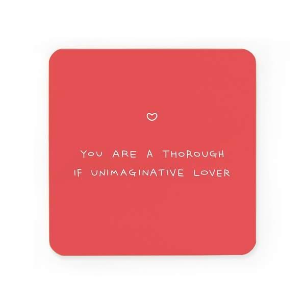 Thorough If Unimaginative Coaster