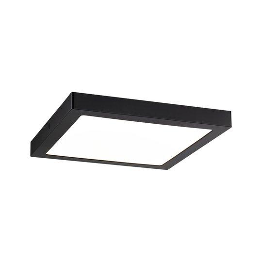 Paulmann Abia -LED-paneeli kulmikas mattamusta
