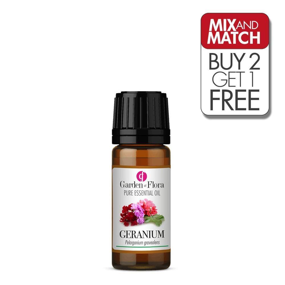 Geranium Pure Essential Oil (10ml)