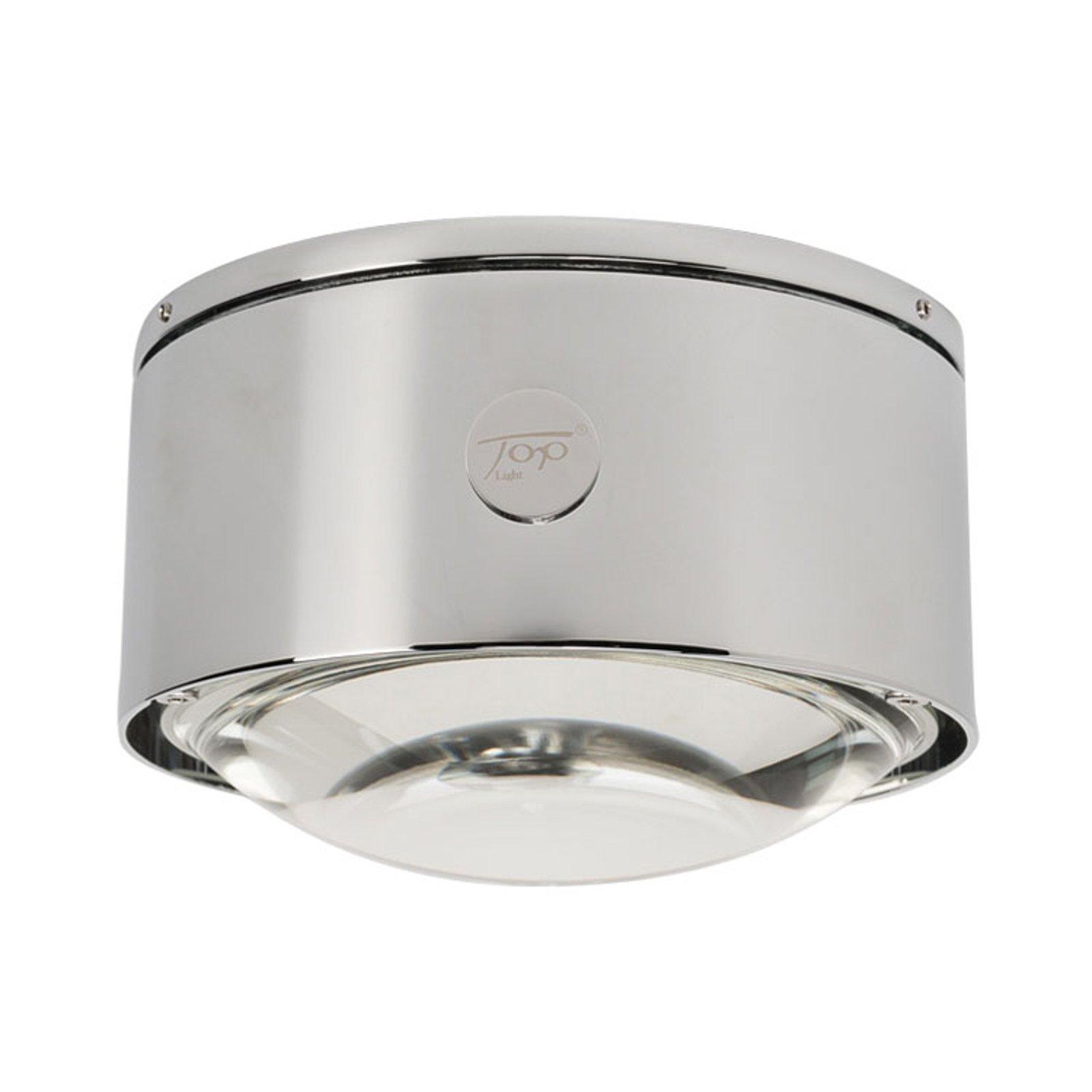 LED-taklampe Puk Maxx One 2, krom matt