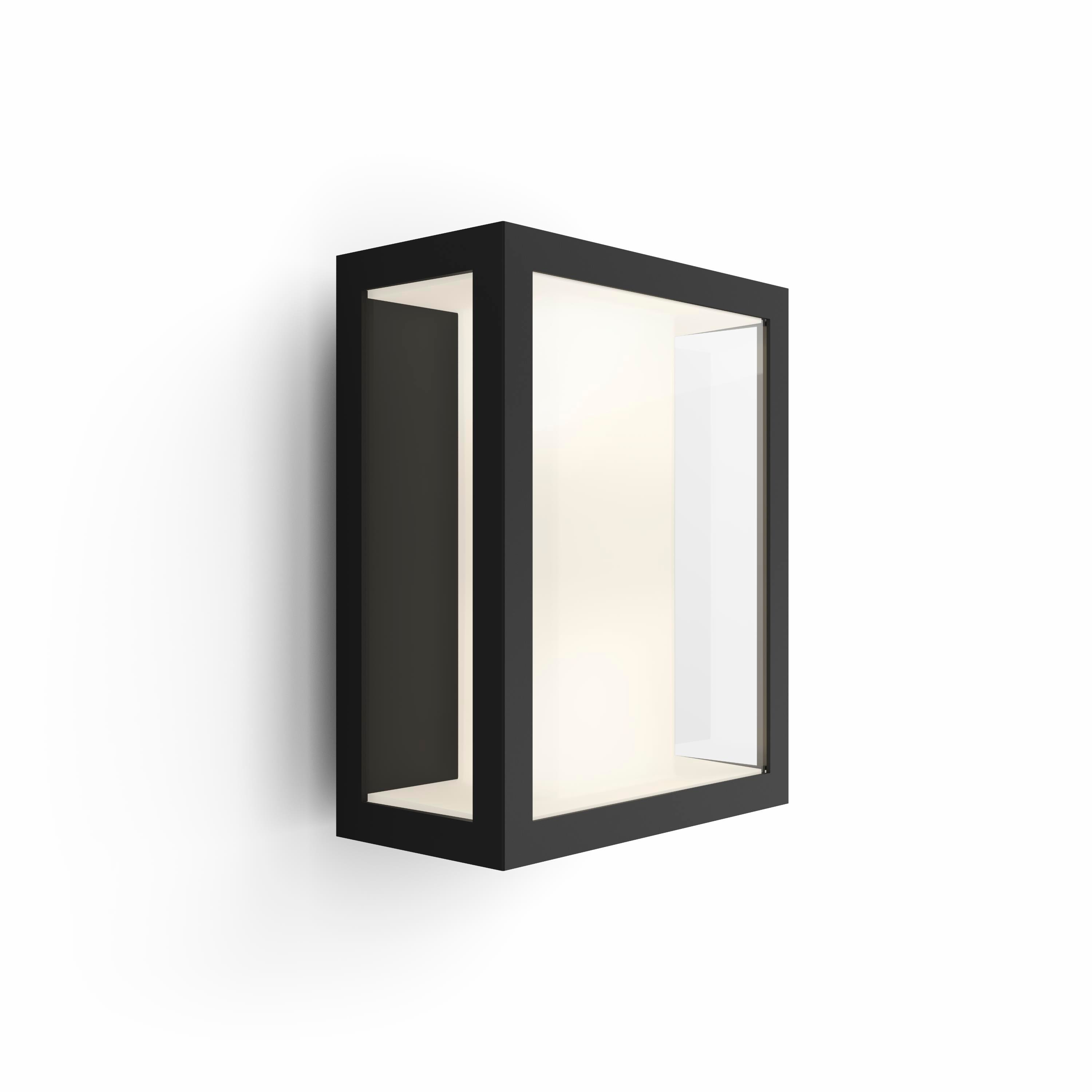 Philips Hue - Impress Large Wall Lantern Outdoor - White & Color Ambiance