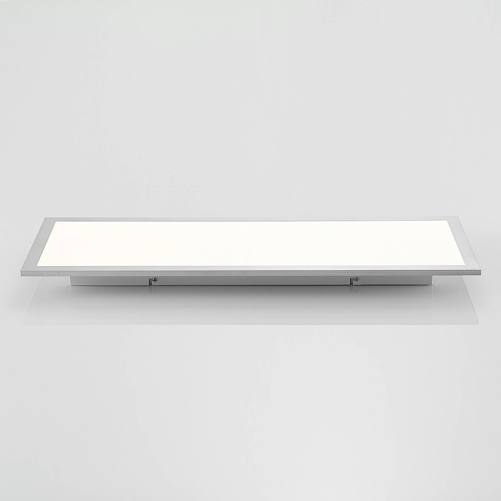 Lindby Zemmi -LED-kattovalaisin, 80 x 30 cm