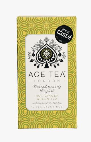 Ace Tea vihreä tee, hot ginger moniväri