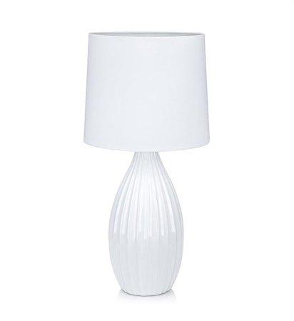 Stephanie Bordlampe 1L Hvit