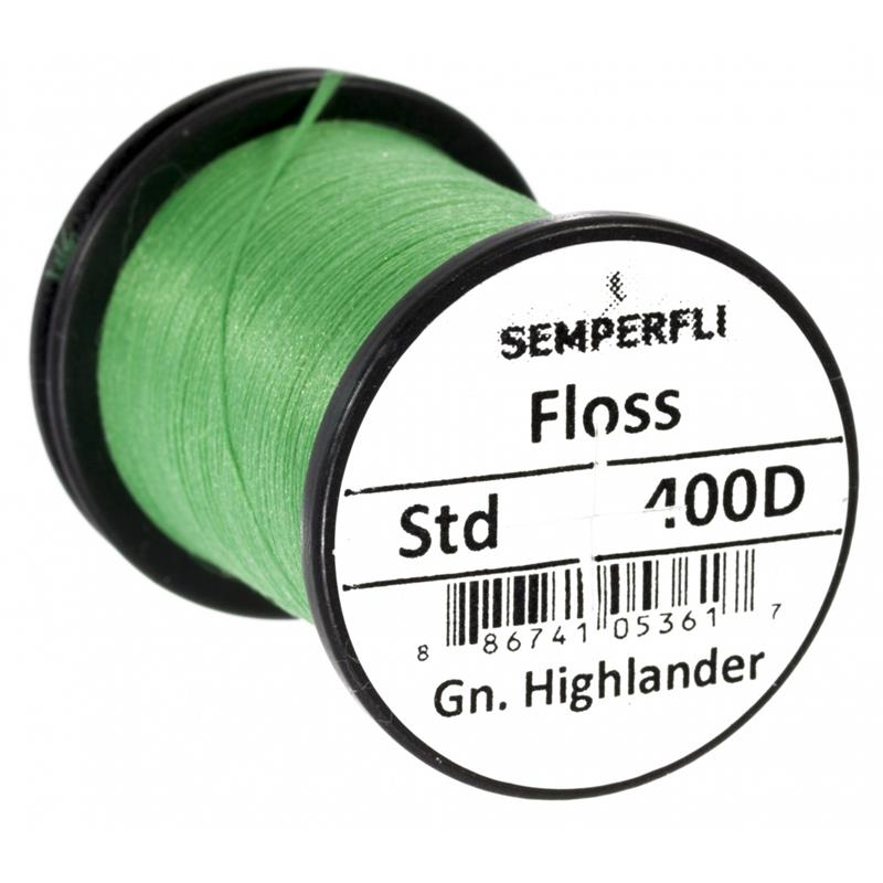 Semperfli Fly Tying Floss 400D Green Highlander