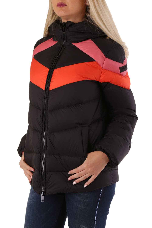 Diesel Women's Jacket Black 320128 - black-1 2XS