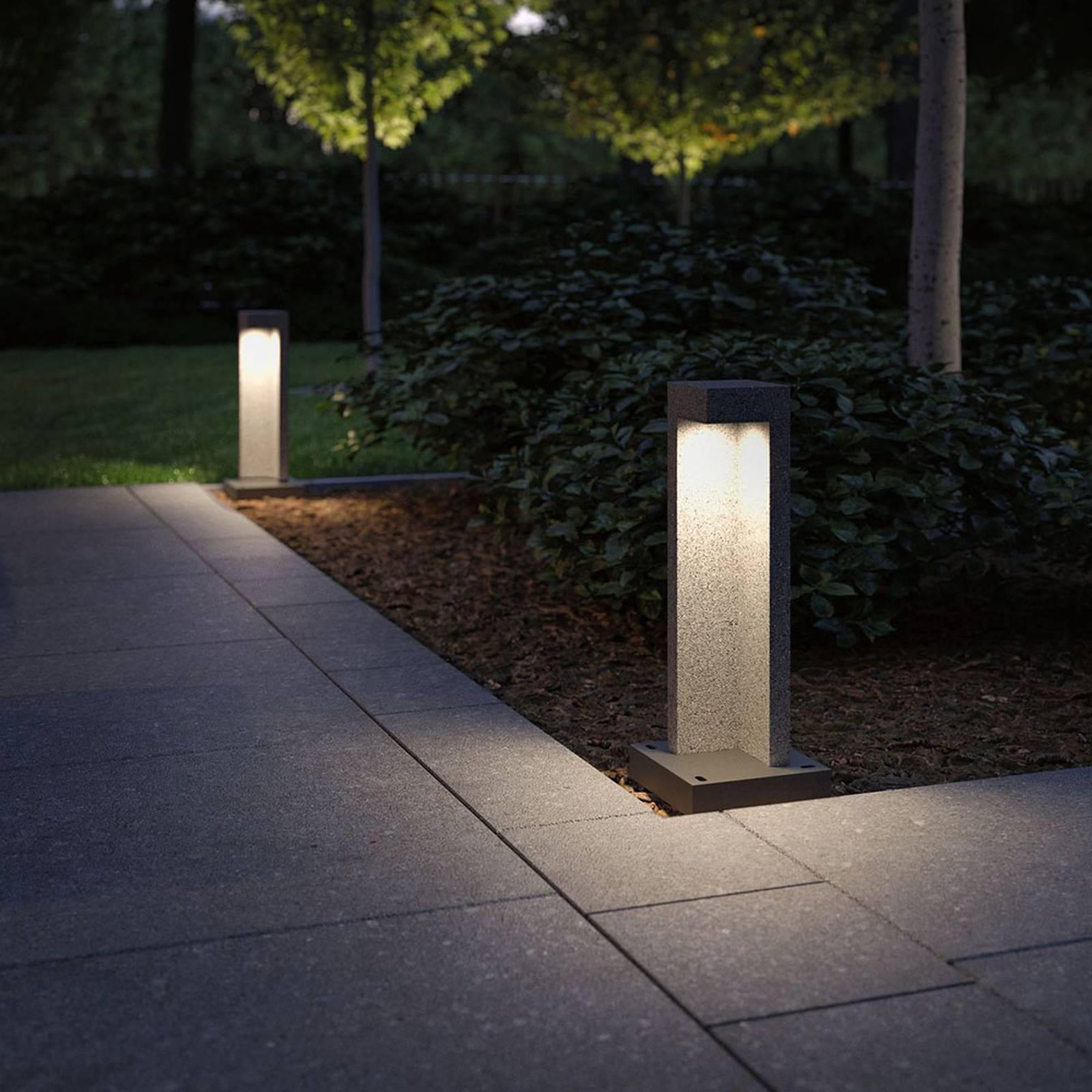 Paulmann Concrea-LED-pollarivalaisin, korkeus 45cm