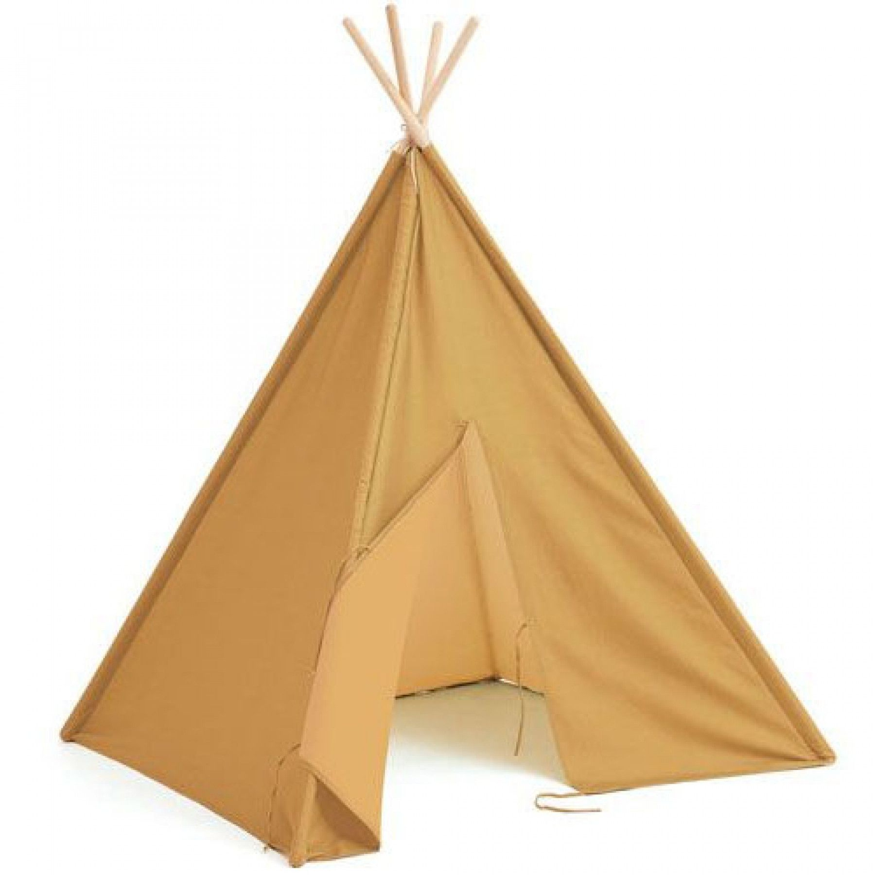 Kids Concept - Tipi Tent - Yellow (1000573)