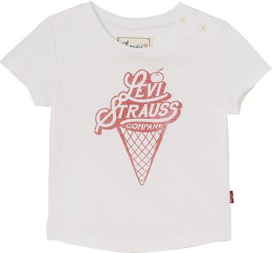 Levi's Kids Ice T-Shirt, White 3mån