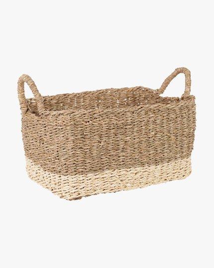 Artiste 22x33x18 Cm Basket, Luonnonvalkoinen, 22x33cm