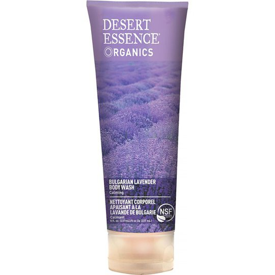 Desert Essence Bulgarian Lavender Body Wash, 237 ml