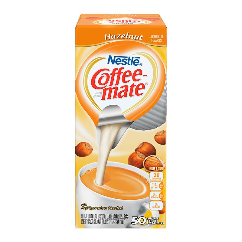 Coffee-Mate Liquid Creamer Singles - Hazelnut