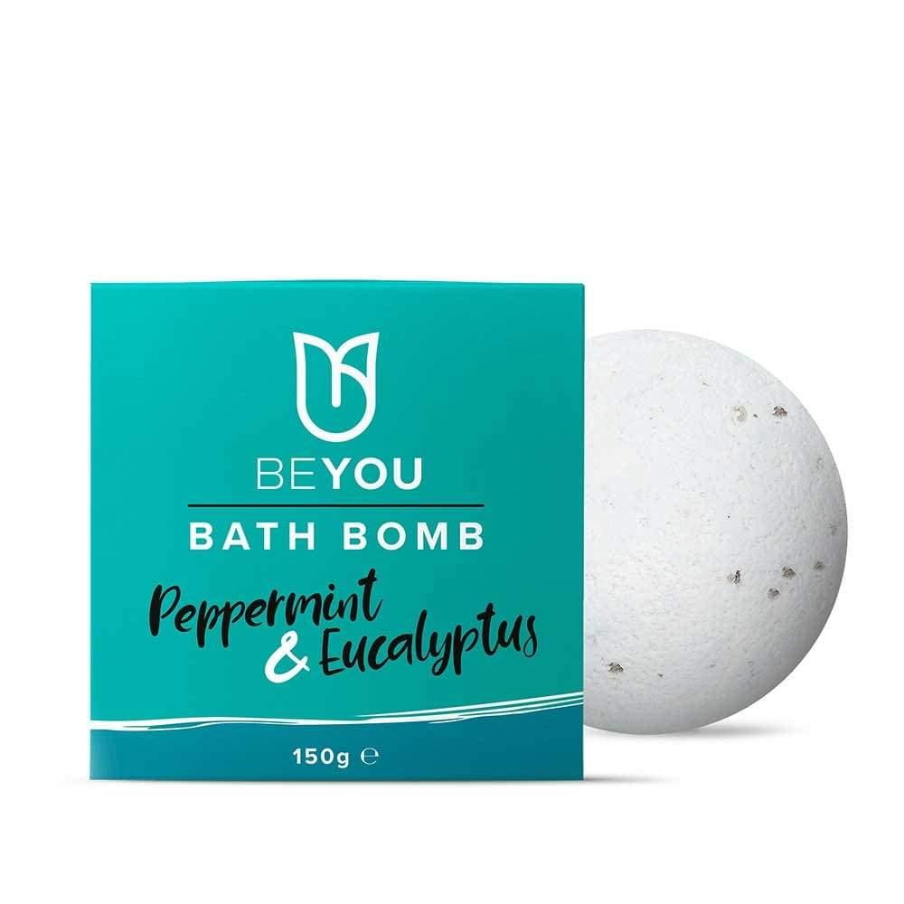 BeYou Peppermint and Eucalyptus Bath Bomb