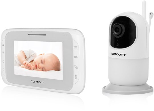 Topcom Digital Babycall med Video KS-4262
