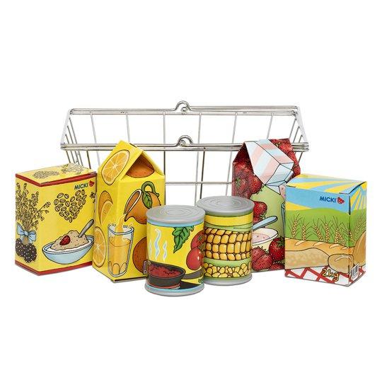 Micki Shopping med Matvarer