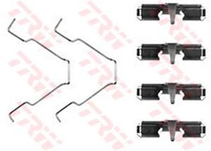 Tarvikesarja, jarrupala, Taka-akseli, FORD USA PROBE II, MAZDA 626 IV, 626 V, 626 Hatchback IV, MX-6, XEDOS 6, 126127000, 6531270