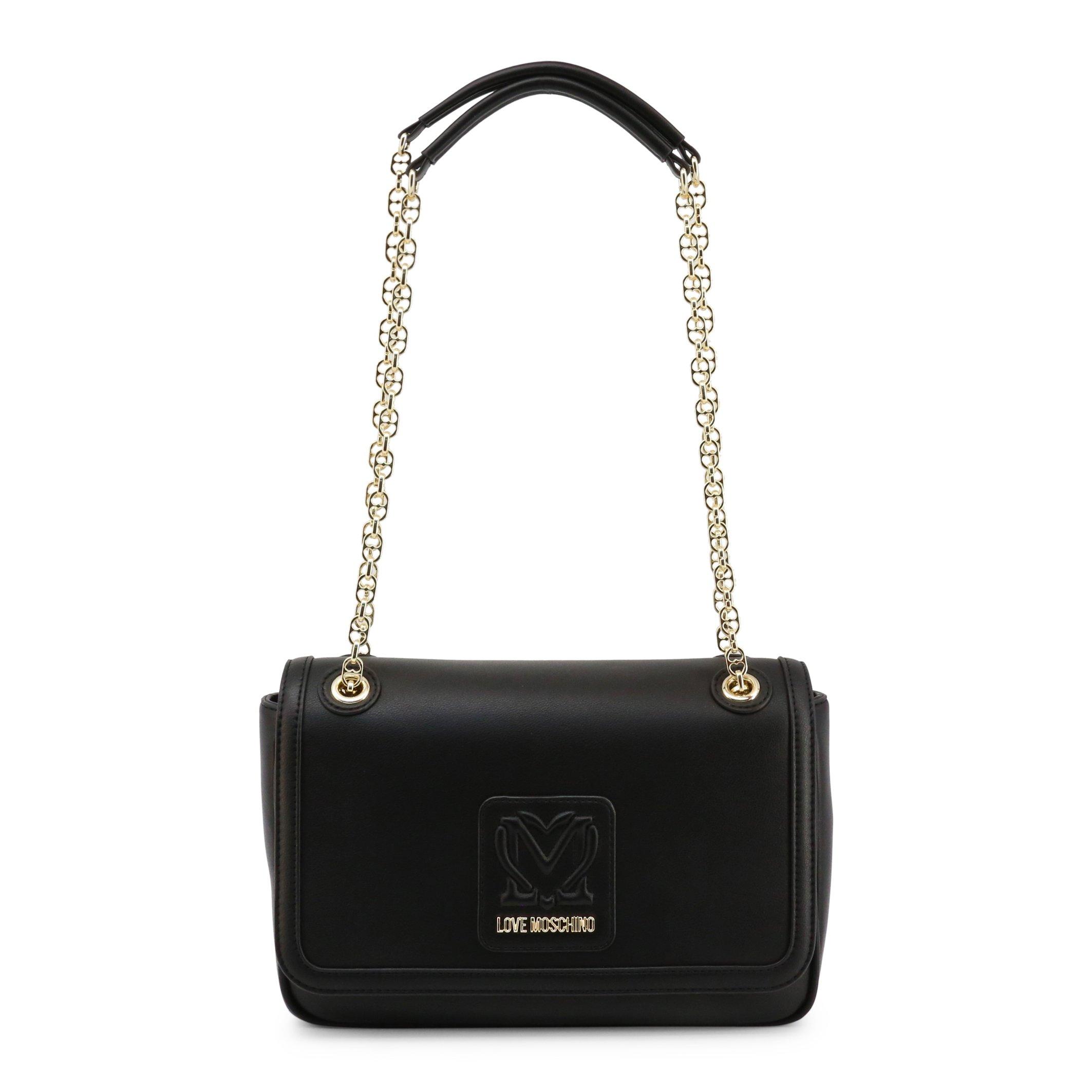 Love Moschino Women's Shoulder Bag Black JC4111PP1CLK1 - black-1 NOSIZE