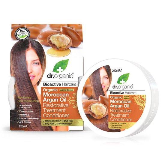 Dr. Organic Moroccan Argan Oil Conditioner, 200 ml