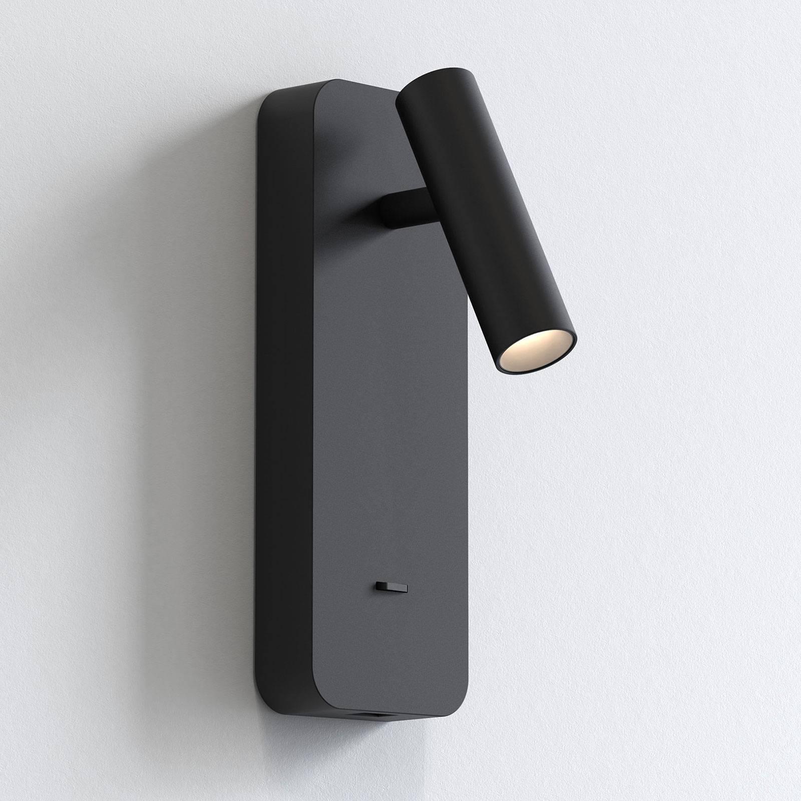 Astro Enna Surface USB -LED-seinävalaisin, musta