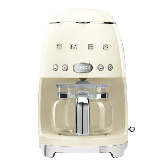 Smeg - 50's Style Kaffebryggare Creme