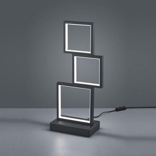 LED-bordlampe Sorrento, matt svart