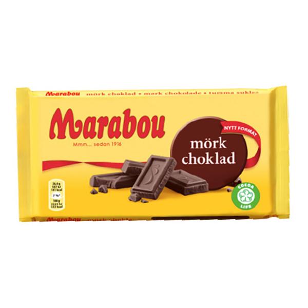 Marabou Mörk Choklad - 185 gram