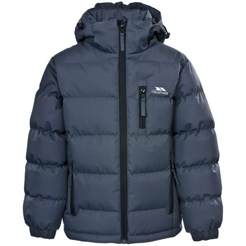 Trespass Kid's Boy Jacket Various Colours Tuff - Flint 5 to 6 Years
