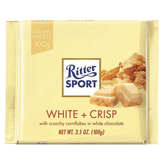 """Vit Choklad """"Crisp"""" 100g - 33% rabatt"""