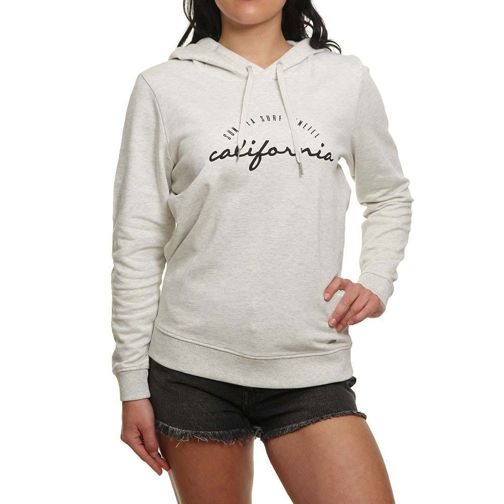 O'Neill Women's Sports Graphic OTH Cotton Hoodie Various Colours 8719403344100 - M White Melee