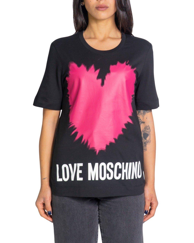 Love Moschino Women's T-Shirt Various Colours 198587 - black 38