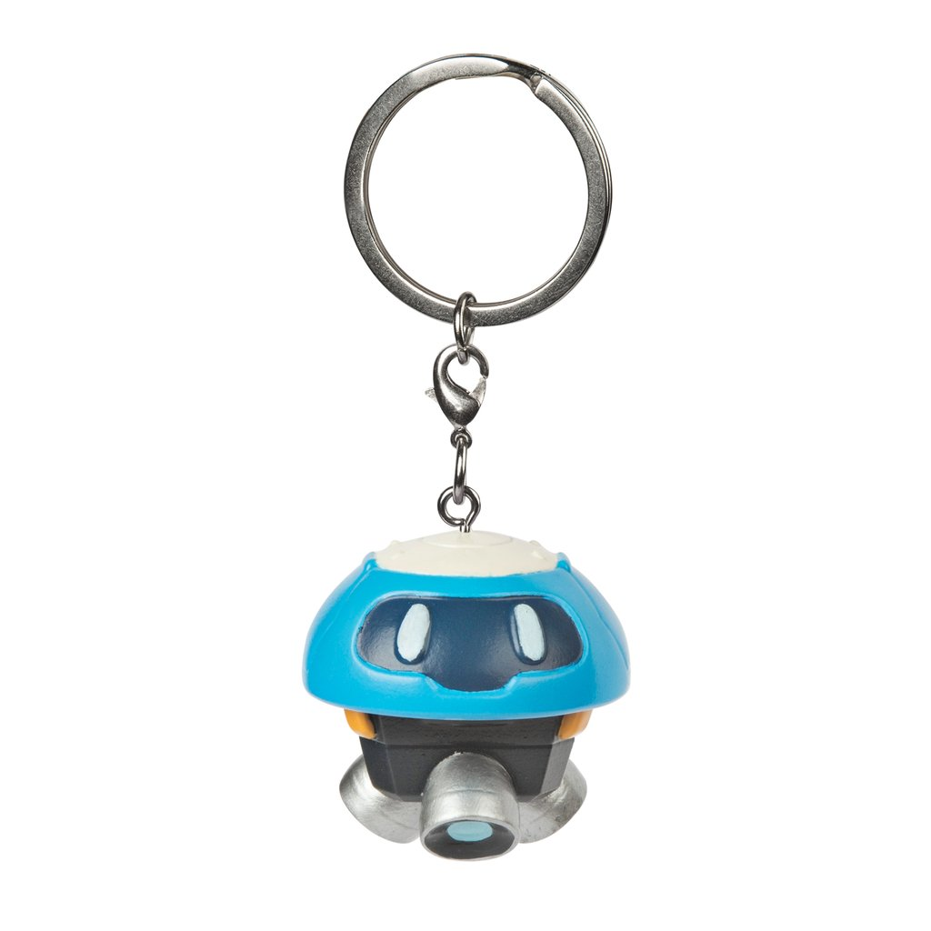 Overwatch Snowbacll 3D Charm Blue/White