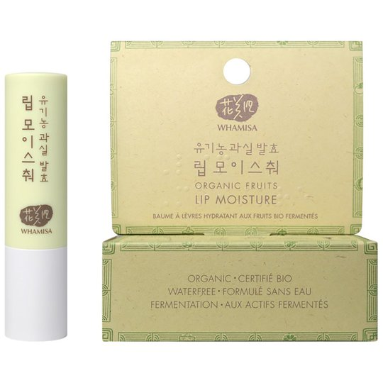 Organic Fruits Lip Moisture, 4 g Whamisa Skincare Huulirasva