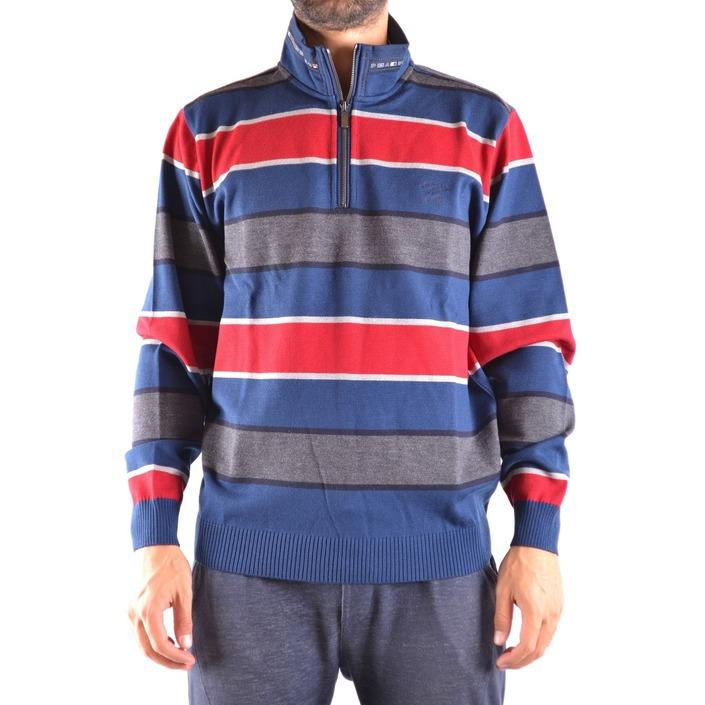 Paul&shark Men's Sweater Blue 161618 - blue L