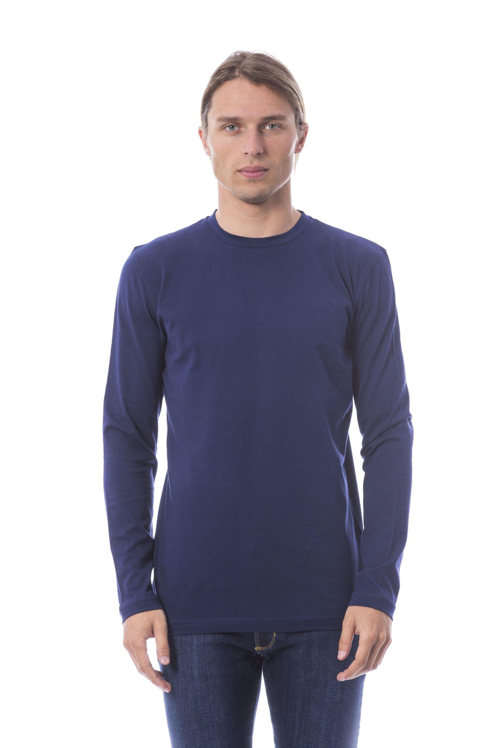 Verri Men's Vblu T-Shirt Blue VE678502 - L