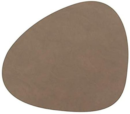 Curve L Bordbrikke Nupo Brun 37 x 44 cm