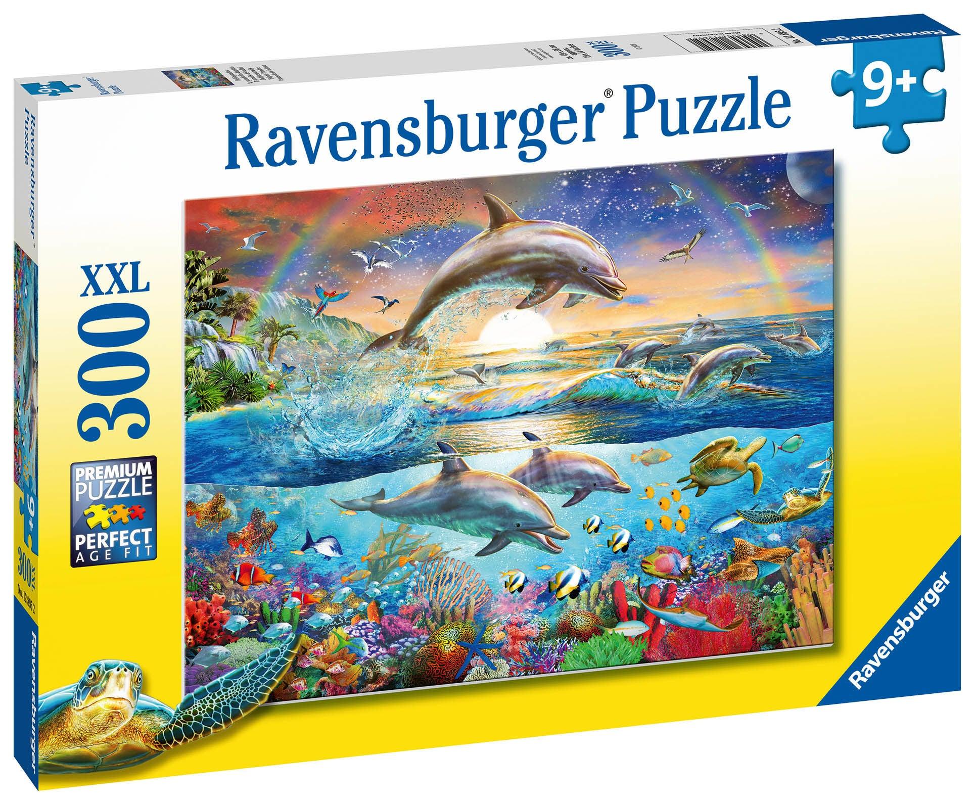 Ravensburger Pussel Delfinparadis 300 Bitar