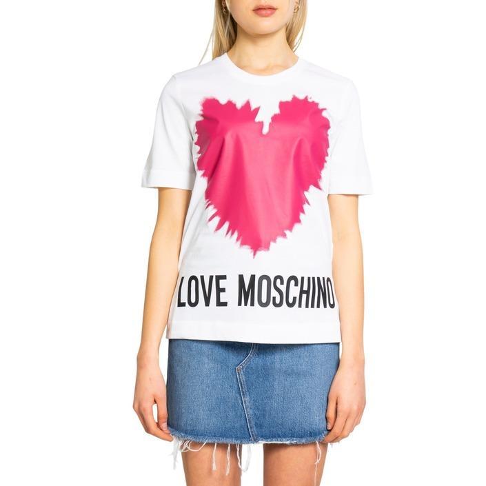 Love Moschino Women's T-Shirt Various Colours 198587 - white 42