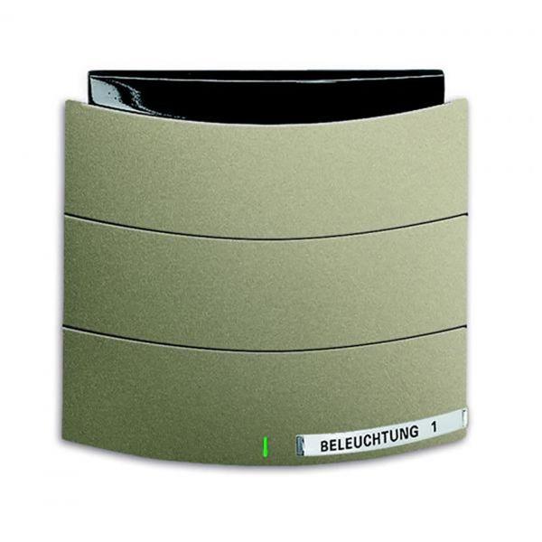 ABB Busch-triton 6320-0-0010 Painike Infrapuna, 1-napainen KNX Maalattu, matta, palladium