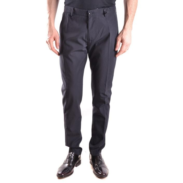 Daniele Alessandrini Men's Trouser Black 163132 - black 46