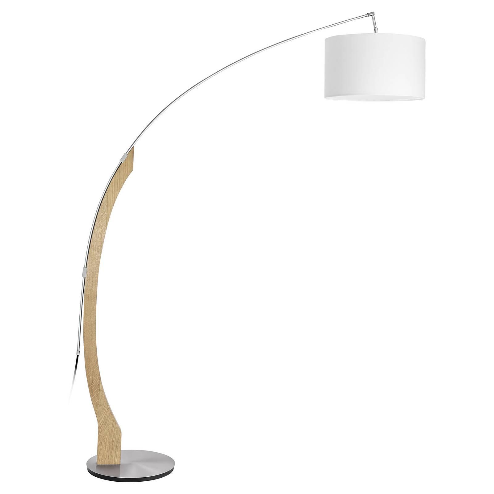 HerzBlut Amos -kaarilamppu, runko tammea