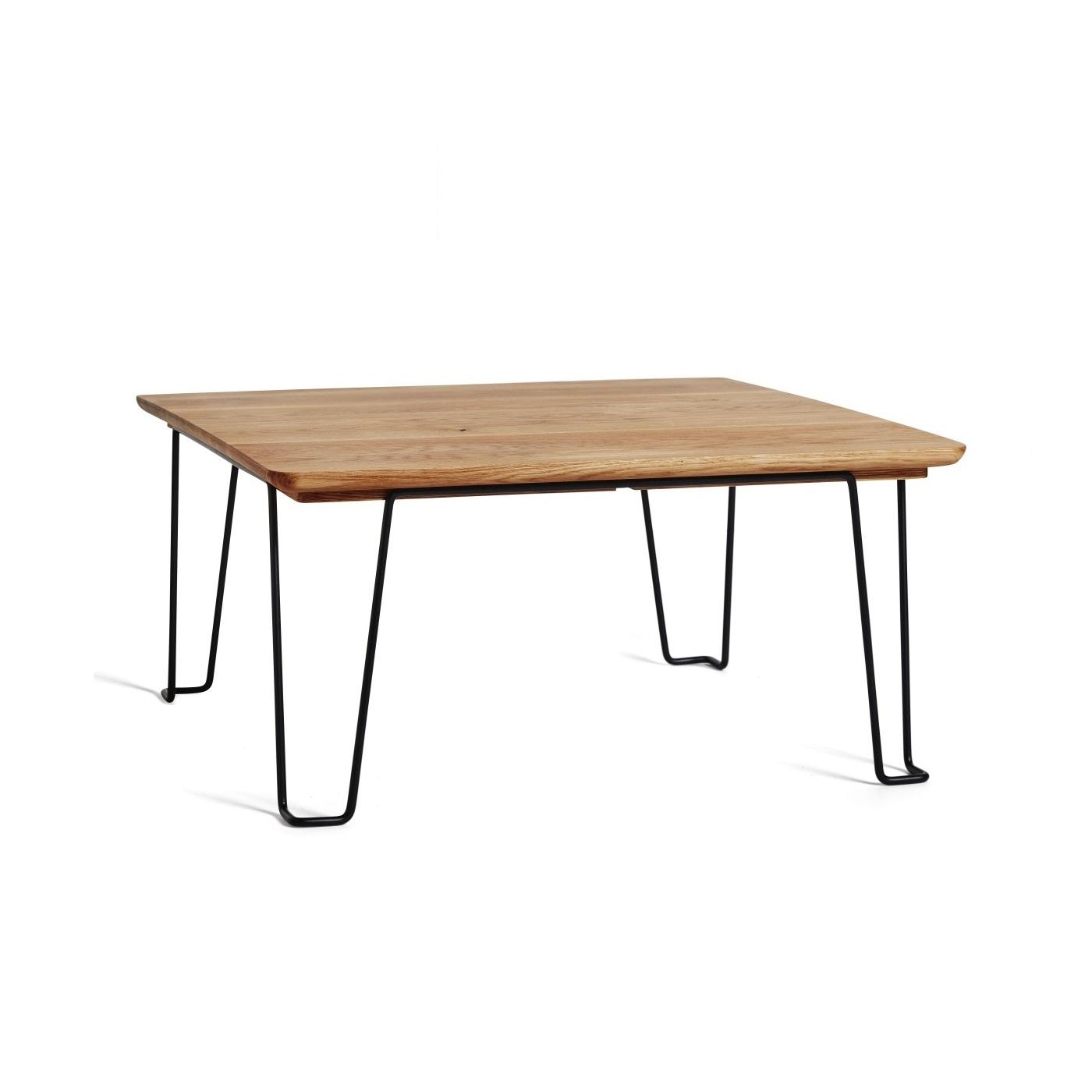 GAUCHO soffbord oljad ek / svart, Mavis