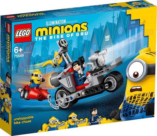 LEGO Minions 75549 Ustoppelig Sykkeljakt
