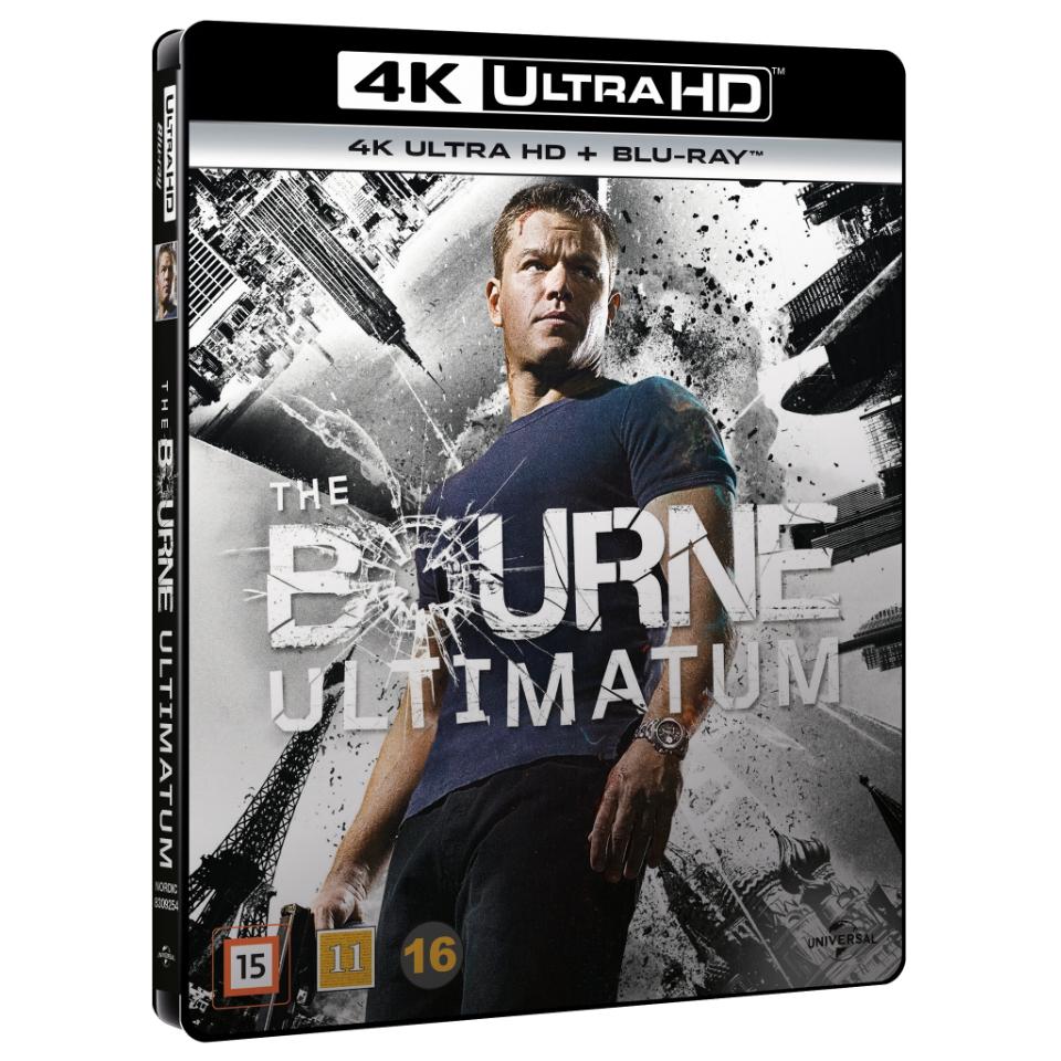 The Bourne Ultimatum (4K Blu-Ray)