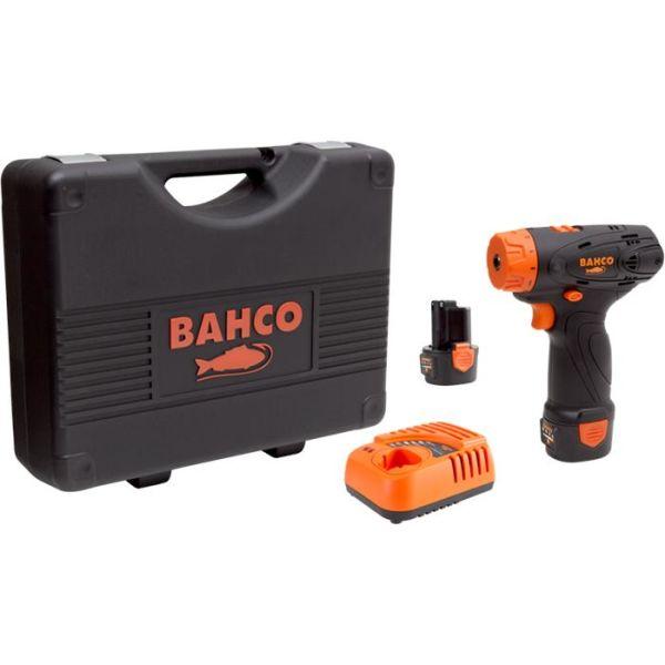 Bahco BCL31SD1K1 Skrutrekker med 2,0Ah-batterier og lader