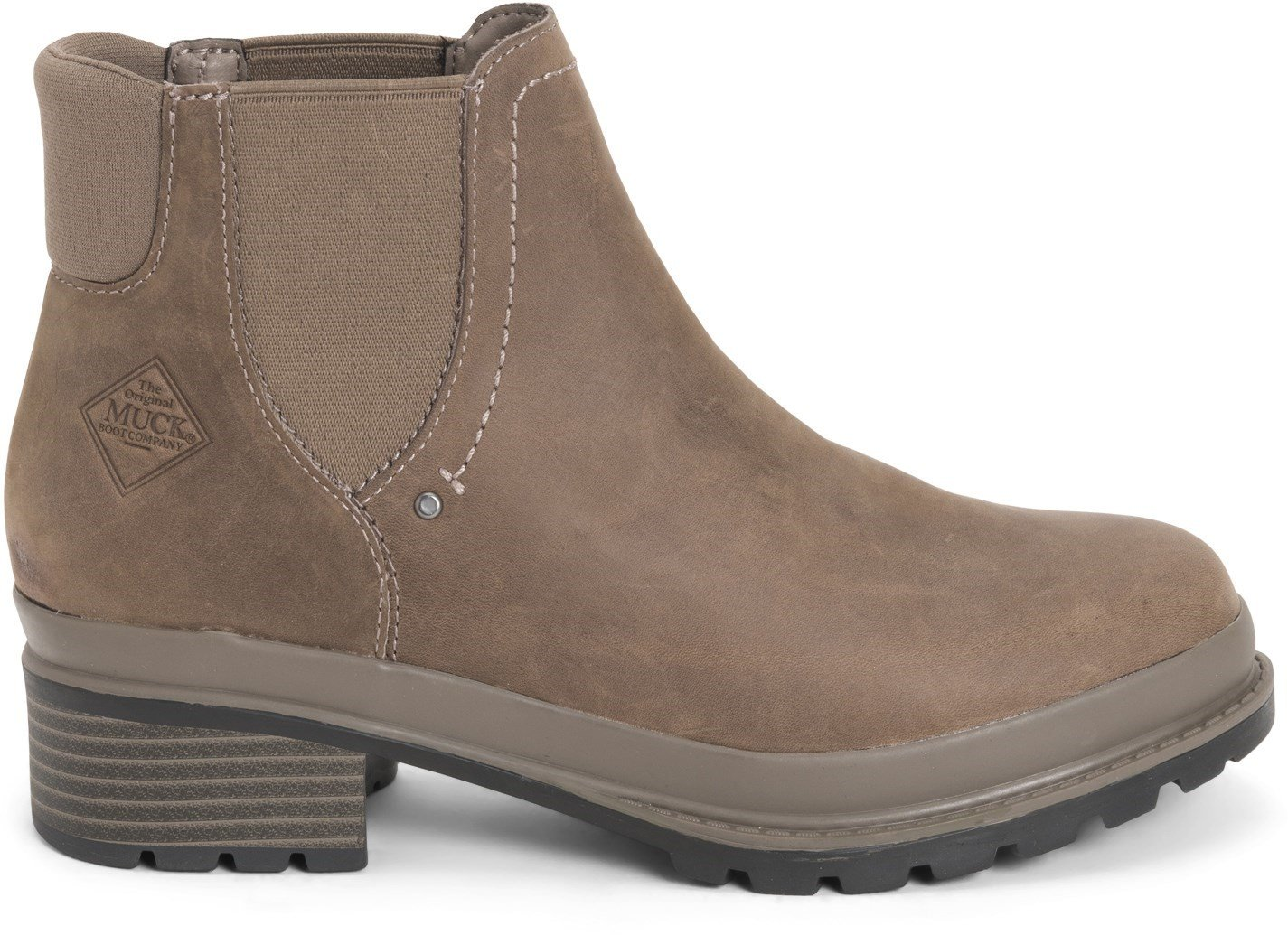 Muck Boots Women's Liberty Chelsea Boot Various Colours 31762 - Taupe 3