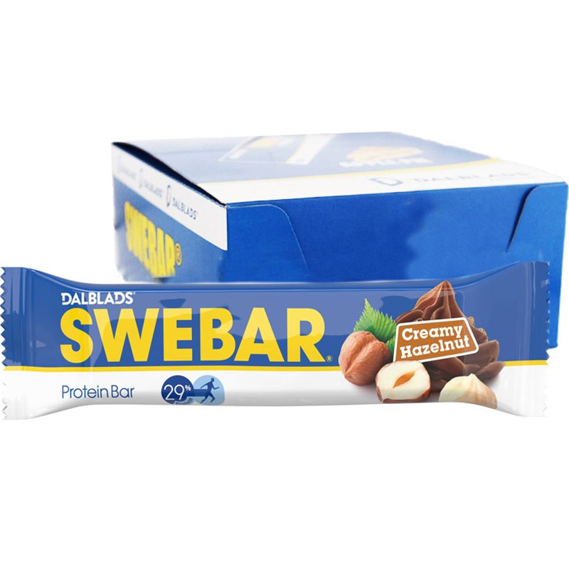 Proteinbars Krämig Hasselnöt 20-pack - 47% rabatt