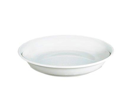Bourges tallerken dyp hvit, Ø 21 cm