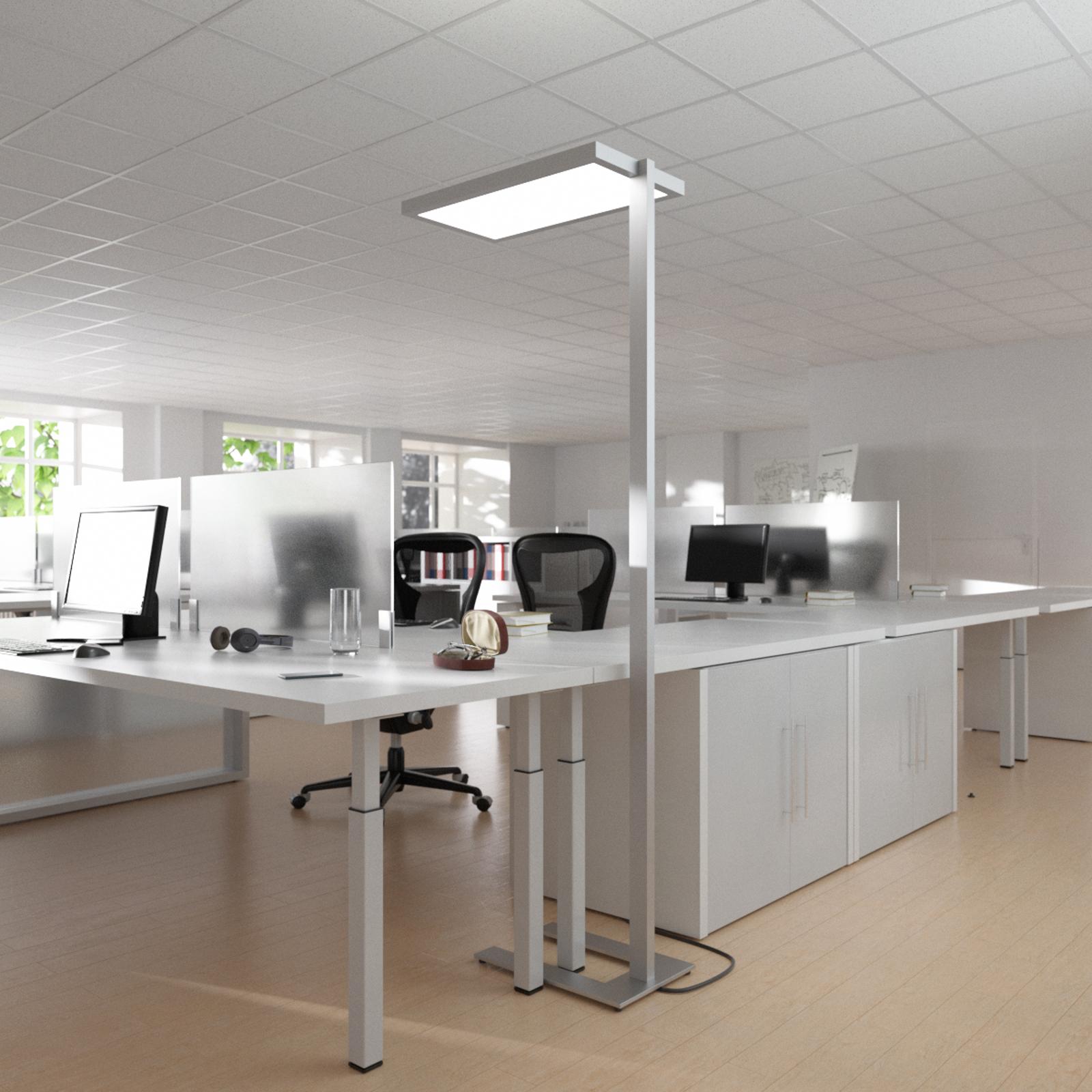 Oli-työpaikkalattiavalo LEDeillä ja himmentimellä