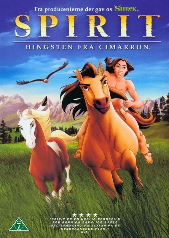 Spirit: Stallion Ot Cimarron DVD