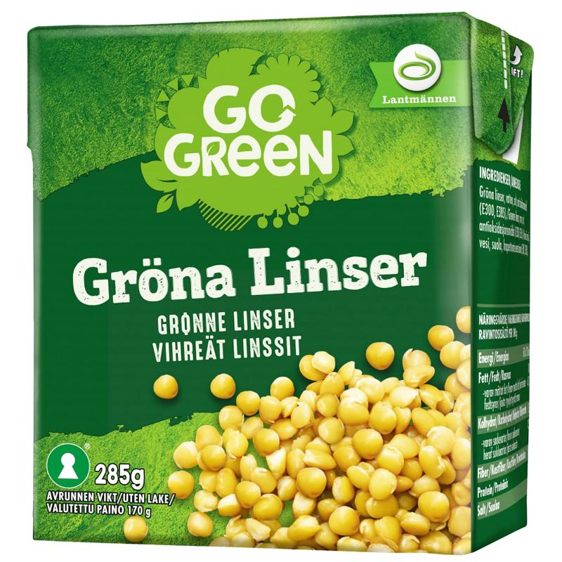 Gröna Linser - 54% rabatt